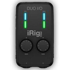 IK Multimedia iRig Pro Duo I/O Interfaccia Audio USB MIDI per iPhone iPad Androi