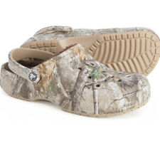 Crocs Winter Lined Realtree® Edge Clog - Men's Size 11 - Women's 13 New
