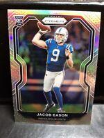 2020 Panini Prizm Jacob Eason Silver Holo 331 Indianapolis Colts RC Gem