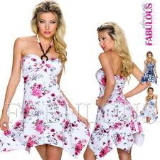 Summer/Beach Asymmetrical Hem Regular Size Dresses for Women