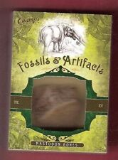 MASTODON TOE BONE FOSSIL ARTIFACT OVER 11,700 YRS OLD 2011 UPPER DECK PARKHURST