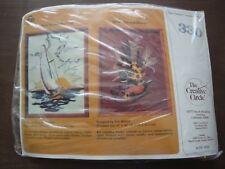 THE CREATIVE CIRCLE KIT 330 WOODEN DECOY Crewel Kit 1983 Mallard Duck