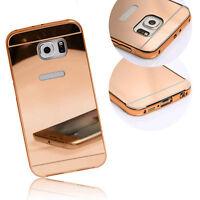 Luxury Ultra-Thin Mirror TPU Silicone Soft Gel Case Cover Fr Samsung Smart Phone