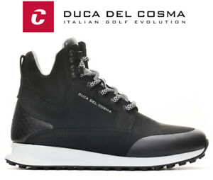 Duca Del Cosma Stanford Waterproof Nappa Leather Golf Shoes, Spikeless FREE P&P