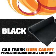 200cmx40cm Black Trunk Underfelt Carpet  Auto Car Caravan Well Trim Subwoofer