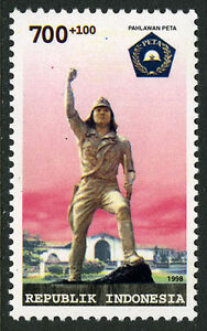 Indonesia B242, MNH. PETA (Pembela Tanah Air) volunteer army, 1998