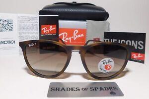 RayBan Rb4171 Erika 865/T5 Tortoise Frame/Brown Gradient 54MM Polarized Sunglass