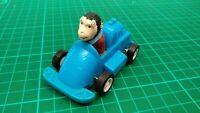 PG CHIMP VINTAGE RETRO PULL BACK CAR 40 YEARS ANNIVERSARY BLUE GEOFF MONKEY TOY