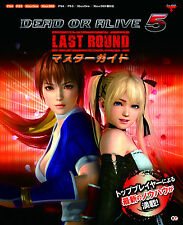 DEAD OR ALIVE 5 Last Round Master Guide Book JAPAN art ps3 ps4 xbox 360 mook doa