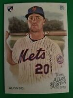 2019 Topps Allen & Ginter Pete Alonso #182 RC Rookie NY Mets Champions