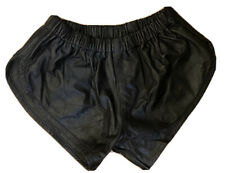 Leather Shorts L
