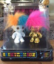 Elektrokids 2 Dancing Trolls ~ Store Shelf Display Case ~ Discontinued Display!
