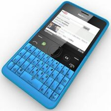 Brand New Nokia Asha 210 BLUE ( Wifi ) All Networks WhatsApp Facebook QWERTY
