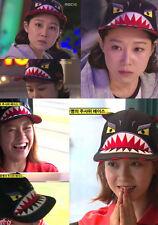 Korean Drama Running Man Song Ji Hyo Face Hat Cap with Ears