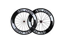 VELOSA Super Sprint 80 Road Bike Wheel Set 700c, Tubular Shimano 10,11s