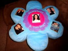 Flower Stuffed Plush Pillow Everybody Loves Me Photo Holder record voice message