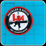 HECKLER & KOCH NO COMPROMISE PATCH IRON ON HK GUN H&K QUALITY