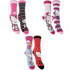 Hello Kitty Ankle Socks & Tights (2-16 Years) for Girls