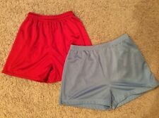 HIBBETT Sports & Carolina Blues Red & Blue Polyester Shorts Size Small