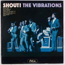 THE VIBRATIONS: Shout! US '65 Okeh OKM 12111 Northern Soul Mono Vinyl LP