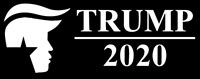 2020 President Donald J Trump - Republican -  Vinyl Decal Bumper Sticker Car