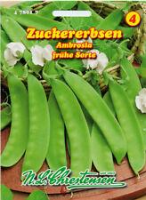 Zuckererbse,Ambrosia,Saatgut,Pisum sativum,Gemüse,Chrestensen,NLC 4b