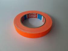 tesa 4671 NEON Klebeband Warnband Zellwollgewebe 19mm x 25m Neon-Orange
