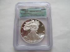 2003 W , Silver Eagle , ICG , PR 70 , DCAM