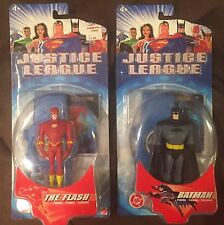 Justice League Unlimited Batman And The Flash Figures