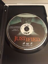 Justified Season 4 Disc 1 Replacement (DVD, 2013, Sony) Ex-Library