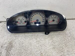 2003-2004 Saturn Ion sedan cluster speedometer tach gauges instrument panel oem