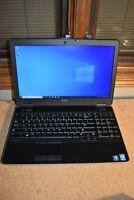 Dell Latitude E6540 Quad Core i7-4800QM 16GB 180GB SSD 1920x1080 Windows 10 Pro