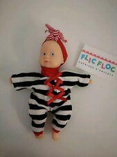 Vêtements mini câlin corolle compatible poupée 20cm barboteuse et bandeau .
