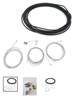 Universal Motorcycle scooter Cable Kit, Clutch, Brake, Throttle