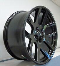"20"" Dodge Ram 1500 SRT 10 Black Style 33"" MT Mud Tire Package Wheels Fits 02-18"