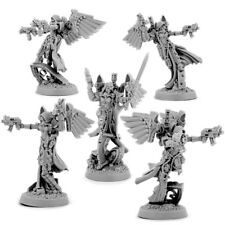 28mm-scale EMPEROR SISTERS ANGELS SQUAD (5U)