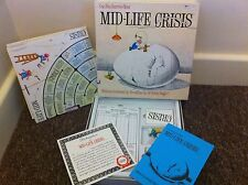 MID-LIFE CRISIS Board Game Can You Survive Your Midlife Crisis 1982 Complete