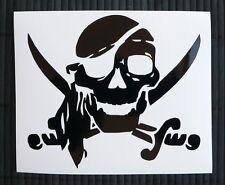 adesivo TESCHIO sticker decal vynil vinile skull film death morte auto moto car