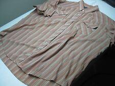 vintage  ROCK CREEK BIG MAN 19 4XL western pearl snap SHORT SLEEVE