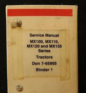 CASE IH MX100 MX110 MX120 MX135 TRACTOR HYDRAULIC ELECTRICAL SERVICE MANUAL