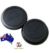 Canon Rear Lens cap + Camera body cap Cover  DSLR  SLR EOS EFEF-S Series Camera