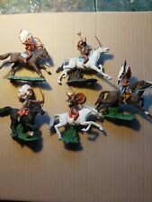 Britains Swoppet Indians Mounted