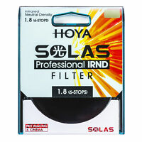 HOYA SOLAS ND-64 (1.8) 6 Stop IRND Neutral Density Filter