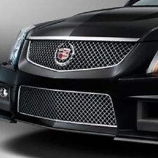 GM 22901748 2012-2014 Cadillac CTS V Upper & Lower Black Chrome Grille