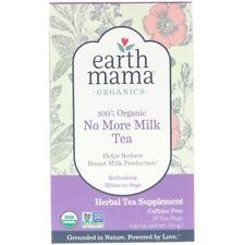 Earth Mama, 100% Organique plus Lait Thé, Rafraîchissant Hibiscus Sage, 16 Sachets de Thé