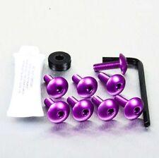 Pro-Bolt Aluminium Mudguard & Hugger Bolt Kit - Purple MUDHUGP Yamaha YZF-R6 05