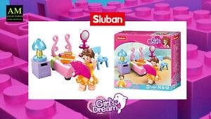 Sluban Girls Dream - Mini Construction Set Bedroom M38-B0800D - New/Boxed