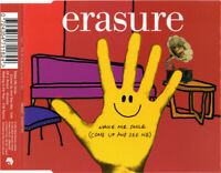Erasure Maxi CD Make Me Smile (Come Up And See Me) - CD1 - Europe (M/EX+)