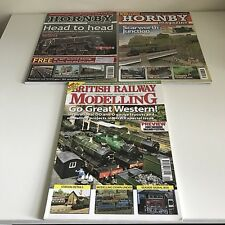 British Railway Modelling Sept 2009 & 2 x Hornby Magazines Sept 2009 March 2010