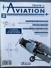 Toute l'aviation, Editions Atlas N° 31, Ford Tri-Motor